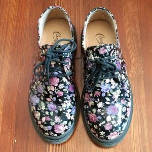 Candie's Floral 3-eye Shoe
